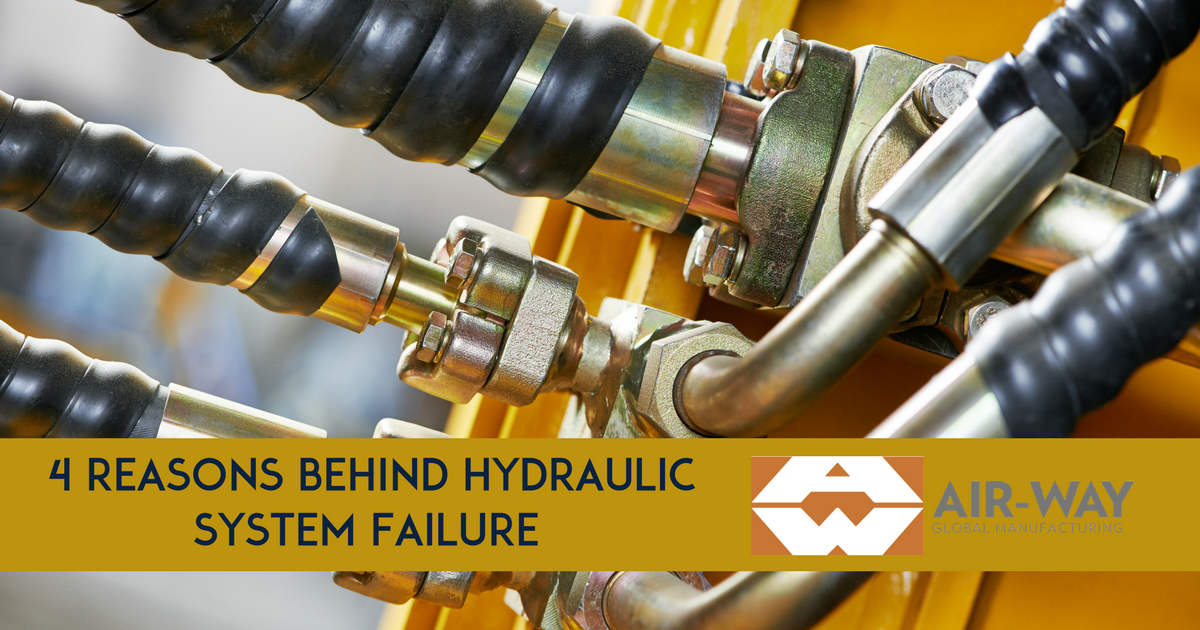 4 Top Reasons Why Hydraulic Systems Fail