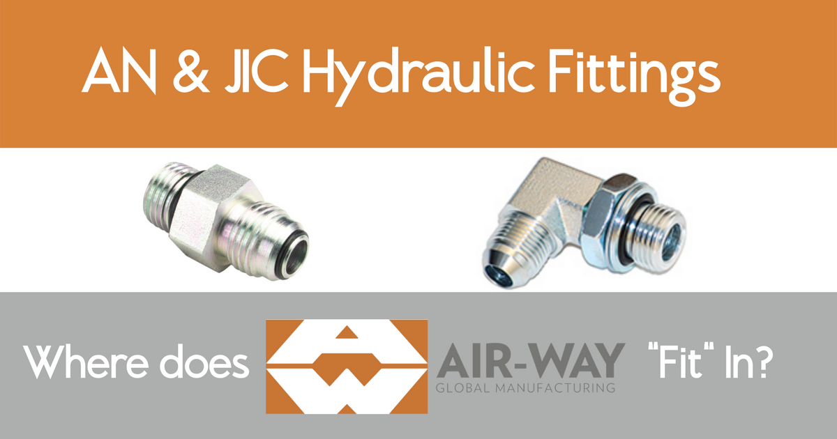 What's the Difference Between AN and JiC Fittings & Where