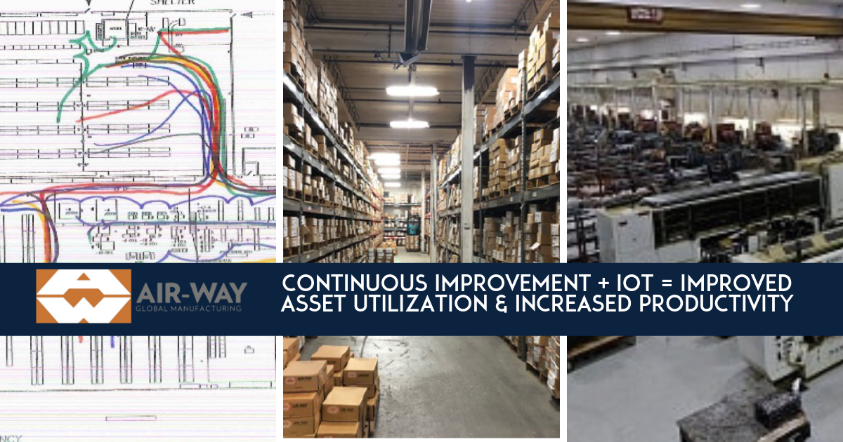 Air-Way Mfg Continuous Improvement and IoT to improve Edgerton Ohio Facility